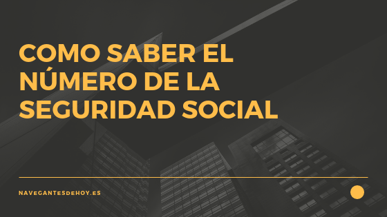 numero seguridad social